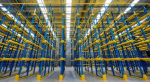 Drive in Pallet Racking, Warehouse, New Drive in Racking, UK, New Drive in Racking North, New Drive in Racking North West, New Drive in Racking North East, New Drive in Racking County Durham, Storage