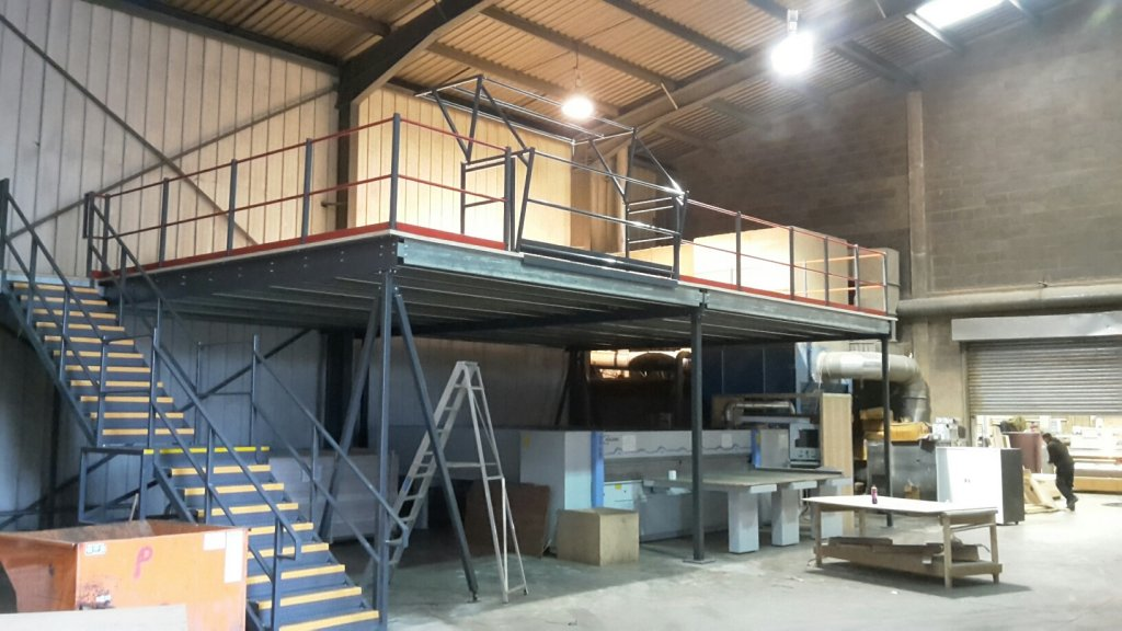 Gallery | We Buy Any Pallet Racking | Advanced Handling, mezzanine floor
