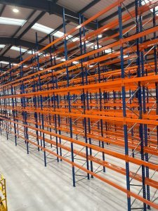 Second Hand PSS Pallet Racking